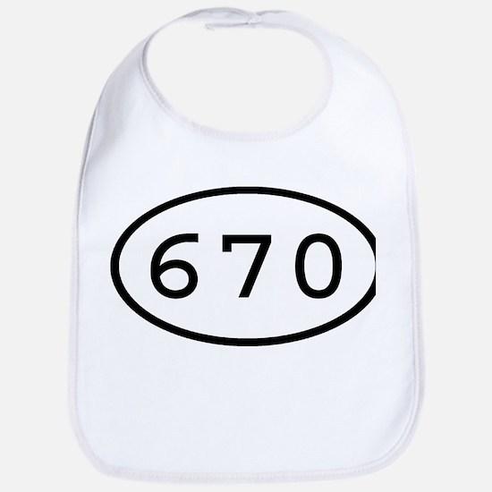 670 Oval Bib