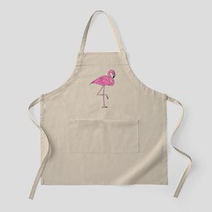 Flamingo On One Leg Apron