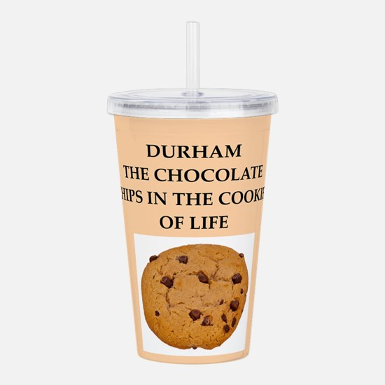 DURHAM.png Acrylic Double-wall Tumbler