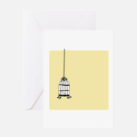 Birdcage Greeting Cards