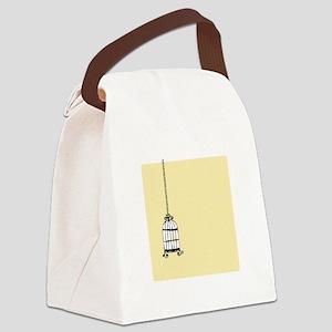 Birdcage Canvas Lunch Bag