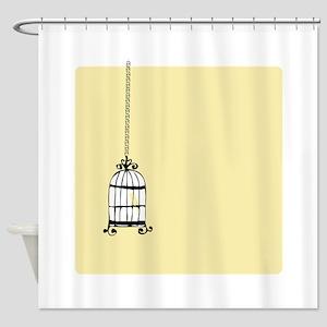 Birdcage Shower Curtain