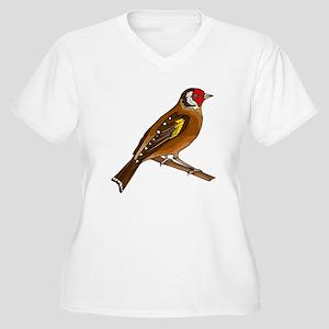 Brown Finch Plus Size T-Shirt