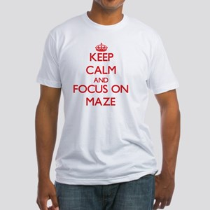Keep Calm and focus on Maze T-Shirt