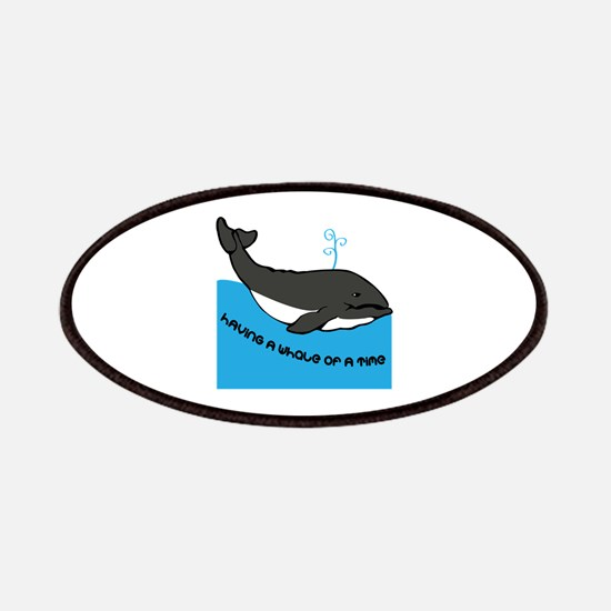 A Whale Of A Time Patches