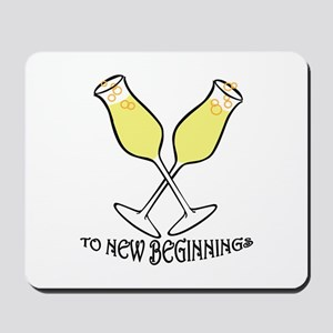 To New Beginnings Mousepad