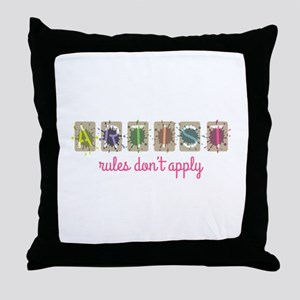 Rules Don't Apply Throw Pillow