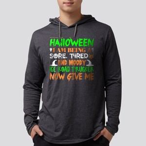 This Halloween Tired Moody Ice Long Sleeve T-Shirt