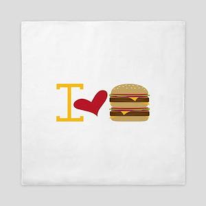 I Love Burger Queen Duvet