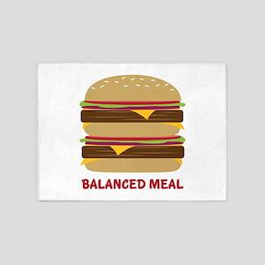 Balanced Meal 5'x7'Area Rug