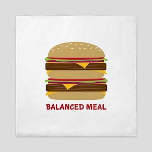 Balanced Meal Queen Duvet