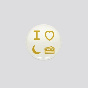 I heart moon cake Mini Button