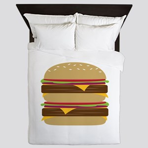 Double Burger Queen Duvet