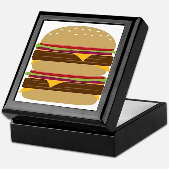 Double Burger Keepsake Box