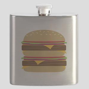 Double Burger Flask