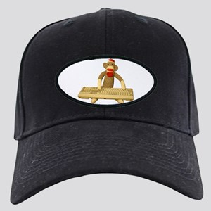 Code Sock Monkey Black Cap