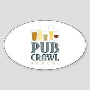 Pub Crawl Annual Sticker