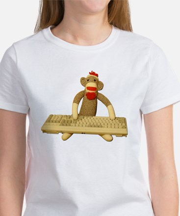 Code Sock Monkey Women's T-Shirt
