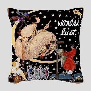 Wanderlust Woven Throw Pillow