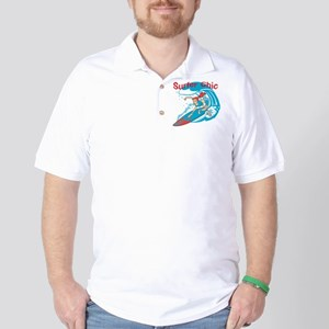 Surfer Chic Golf Shirt