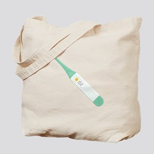 Fever Thermometer Tote Bag