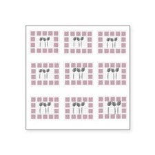 My Vintage Style Gallery Square Sticker 3