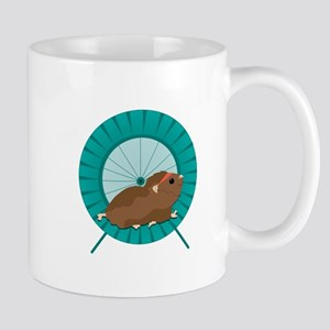 Hamster Treadmill Mugs