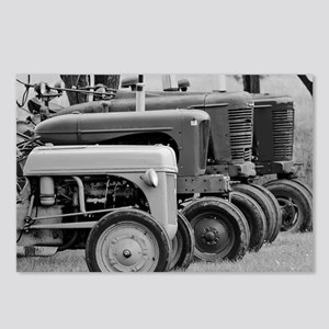 Old Farm Tractors Postcards (Package of 8)