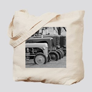 Old Farm Tractors Tote Bag