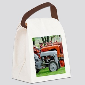Old Farm Tractor Canvas Lunch Bag