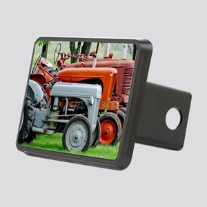 Old Farm Tractor Rectangular Hitch Cover