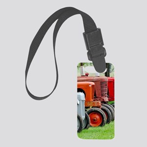 Old Farm Tractors Small Luggage Tag