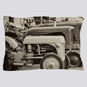Old Farm Tractor Pillow Case