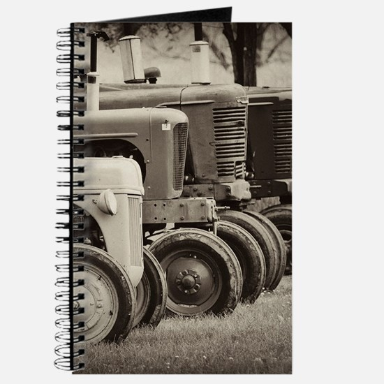Old Farm Tractor  Journal