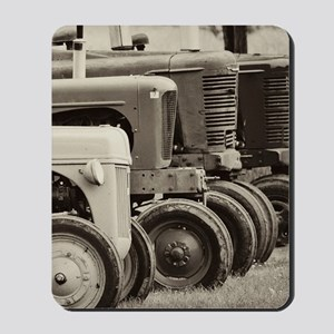 Old Farm Tractor  Mousepad