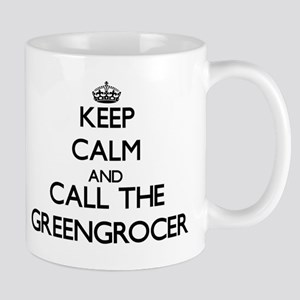 Keep calm and call the Greengrocer Mugs
