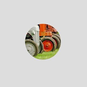 Old Farm Tractors  Mini Button