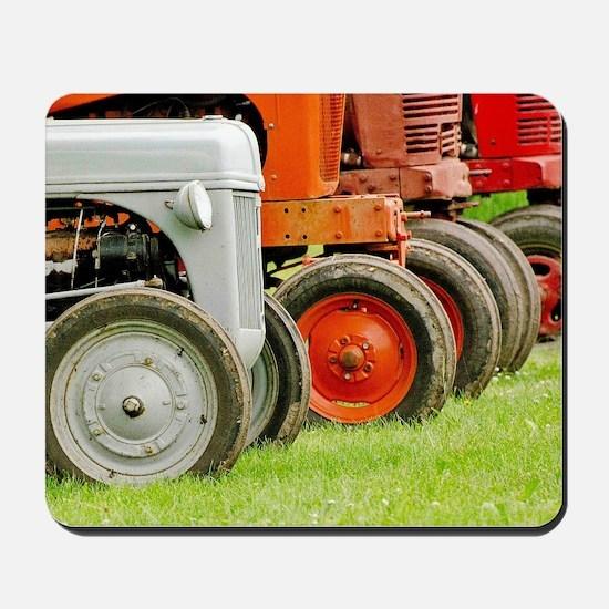 Old Farm Tractors  Mousepad