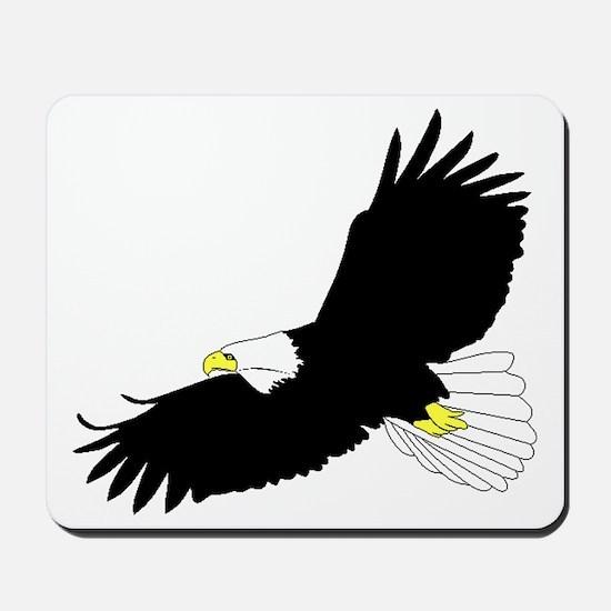 Bald Eagle Flying Mousepad