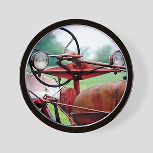 Farm Tractor  Wall Clock