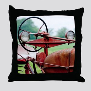Farm Tractor  Throw Pillow