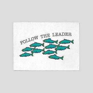 Follow The Leader 5'x7'Area Rug