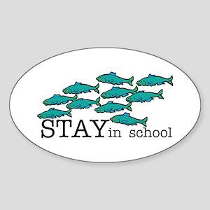 Stay In School Sticker
