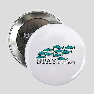 "Stay In School 2.25"" Button"