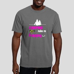 Camping Makes Me Happy T Shirt T-Shirt