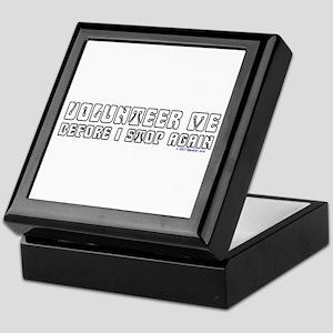 Volunteer Me Keepsake Box