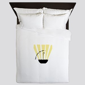 Here Comes The Sun Queen Duvet