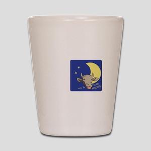 Full Moon Shot Glass