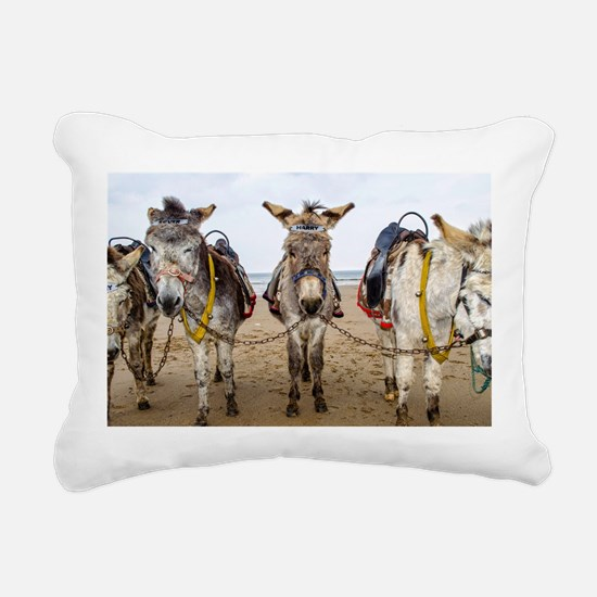 Cute Humor Rectangular Canvas Pillow