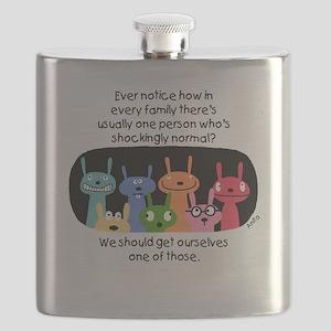 Shockingly Normal Flask